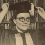Sabra Follett Meservey (1924-1994), Barbara's sister. Sabra was the first woman to be admitted into Princeton University's graduate program, in 1961.