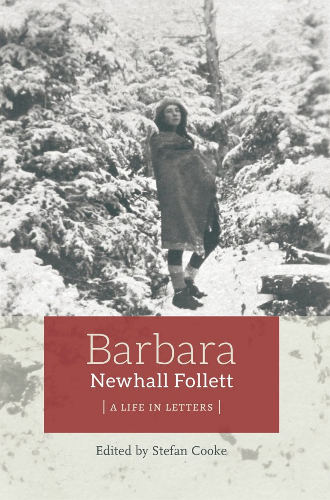 """Barbara Newhall Follett: A Life in Letters"", compiled and edited by Stefan Cooke, Farksolia, 2015"
