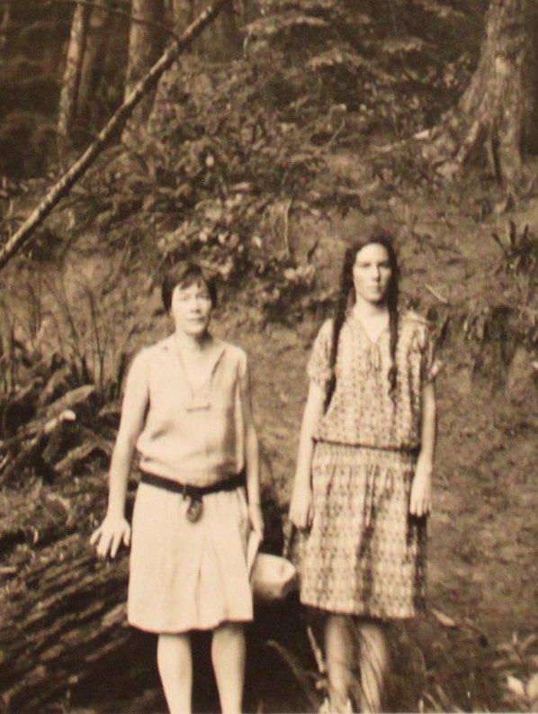 Helen and Barbara, 1929