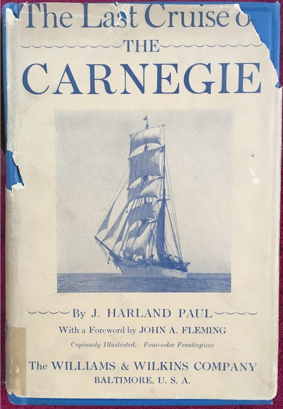 The Last Cruise of the Carnegie, published in 1932