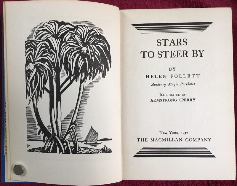"""Stars to Steer By"" by Helen Follett, Macmillan, 1934 (reprinted 1942)"