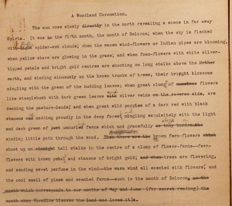 A Woodland Coronation (ca. 1922)