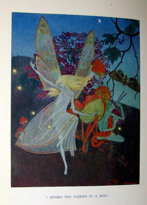 Dorothy P. Lathrop illustration for Down-adown-derry