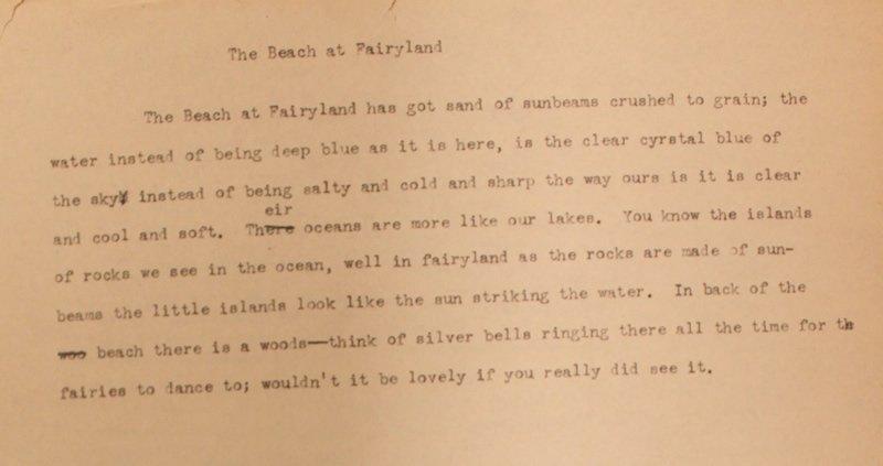 The Beach at Fairyland (ca. 1922)